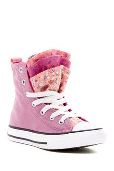 Image of Converse Chuck Taylor All Star Party High Top Sneaker (Baby, Toddler, & Little Kid)