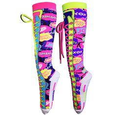 MADMIA Blink Blink Socks Crazy Socks, Girl Dancing, Mix N Match, Rubber Rain Boots, Snapchat, Blink Blink, Shopping, Clothes, Shoes