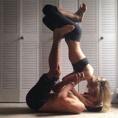 Partner/Acro Yoga taken in Boca Raton, FL, United States by Marella Bolognesi
