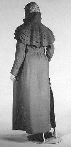 Abrigo  Fecha: ca. 1812 Cultura: Europeo Medio: lana, lino, algodón