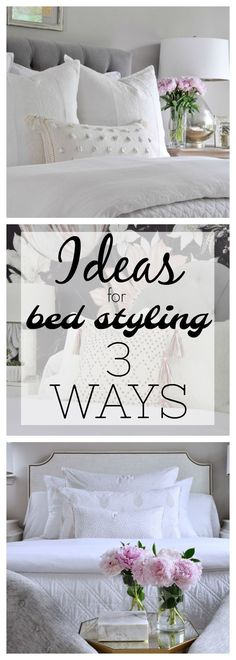 3 ways to style a bed
