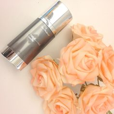 Our spring essentials: TNS Essential Serum & fresh flowers. What are yours?