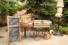 Charming Food Cart