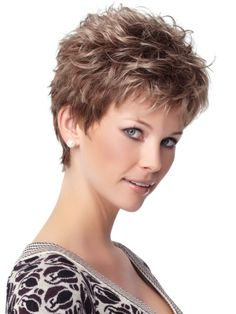 Look younger than what you are by wearing this Short Hairstyles for Long Faces.