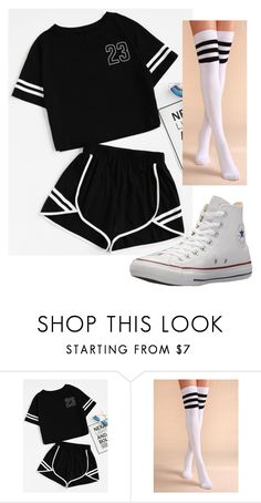"""Untitled #301"" by itsayak on Polyvore featuring Converse"