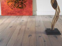 Antique White - Oak Hardwood Flooring, Oil Floor, Chateau Floor