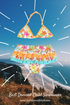 Girls Swimsuits, Bathing Suits & Bikinis for Toddler & Baby Kids Swimwear, Swimsuits, Bikinis, Swimsuit Edition, Bathing Suits, Nice Dresses, Infant, Daughter, Children