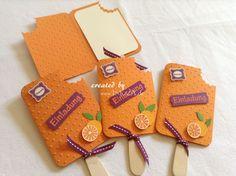 JuliGlut Einladungskarte Eis am Stiel von INEZZA - Geschenkestübchen auf DaWanda.com