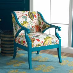 Fabric Upholstered Accent Chair - Foter