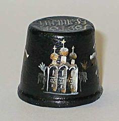Pottery thimbles