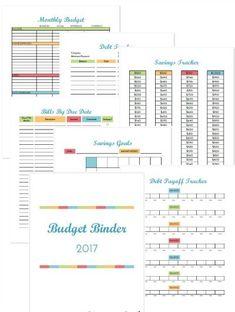 easy printable budget worksheet | get paid weekly and Charlie gets ...