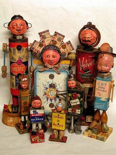 Assemblage Art | Assemblage art characters | Ethnic Art