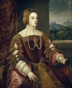 Isabella of Portugal by Titian - 1500–50 in Western European fashion - Wikipedia, the free encyclopedia