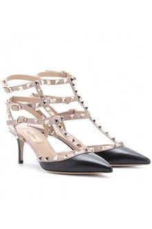 Valentino Rock Studs - kitty heels  are heels for tall girls like me who don't need the height  of a stilleto