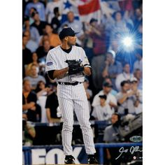 Mariano Rivera 2008 Yankees Pinstripe Jersey Pitching Vertical 8x10 Photo (Signed by Anthony Causi)