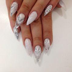 Glitter Manicure Nail Art