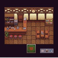 """mediocre-mel: """"A pixel-cover of the Roost Cafe from Animal Crossing New Leaf! Pixel Drawing, 8 Bits, Isometric Art, Pixel Art Games, Pixel Design, Rpg Maker, Environment Concept Art, Map Art, Game Design"""