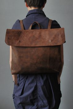 my favorite. #bag #backpack #leather