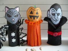 Manualidades para halloween con material reciclado