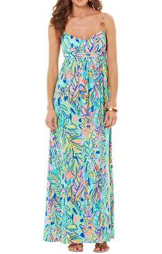 Lilly Pulitzer Joanna Empire Waist Maxi Dress