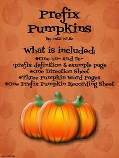 PERFECT!!! This prefix freebie can be used as a center or as a lesson.  What a fun way for your students to practice making words a...