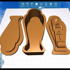 Stunning #sarcophagus project made in Morphi by @ashley.pavlovic #education #makered #3dprinting #design #Egypt #uk #lincolnshire #spalding #england #ancientworld #ancientegypt #curriculum #create #creative #design #steam #learn #teacher #student #3dmodel #3dprint #3ddesign #3dmodeling