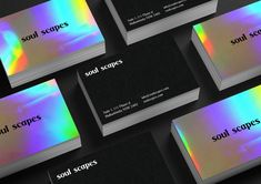 Holographic Business cards - Mai Creative