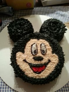 Mickey first bday cake