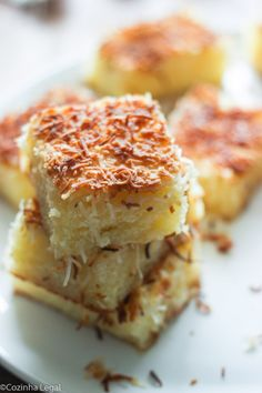 Bolo de tapioca | Cozinha Legal