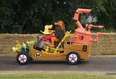 Первые гонки сумасшедших машин в РохалесStep to Spain