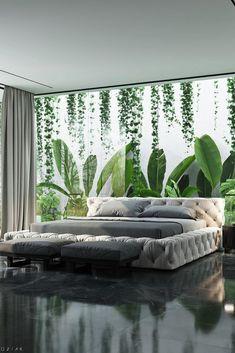 Interior Garden, Home Interior Design, Interior And Exterior, Interior Ideas, Exterior Design, Design Interiors, Luxury Interior, Room Interior, Contemporary Interior