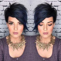 Hairstyles For Seniors, Bob Hairstyles For Fine Hair, Short Pixie Haircuts, Cool Hairstyles, Short Funky Hairstyles, Pixie Haircut Styles, Edgy Haircuts, Toddler Hairstyles, Hairstyles Videos