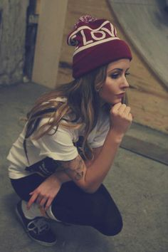 Swag | skater girl | style | fashion