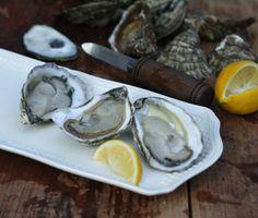 Wellfleet oysters on the half-shell