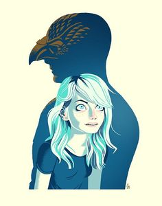"""Over the lastOscar season, we collaborated with Glen Brogan and Teefury on therelease of Glen's""""Birdman"""" inspired print, """"Unexpected Virtue"""". The print was a"""