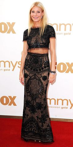 Gwyneth Paltrow in Pucci at the 2011 Emmys