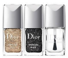 Dior sparkly Nail Polish Sets