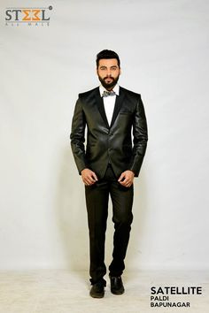 DidYouKnow?  Clothing has a significant effect on self-esteem and confidence.  You are what you dress :)  Pay a visit to your nearest showroom of Steel All Male & get this look TODAY!  #MensWear #FashionTip #Style #FashionBlogger #Suit #DinnerSuit #Tuxedo #LookYourBest #PartyWear #SteelAllMale #Ahmedabad
