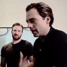 All the crazy shipping aside,you can tell that Chris really adores Seb.I think that the same adoration also works in the favour of both of them on screen :)