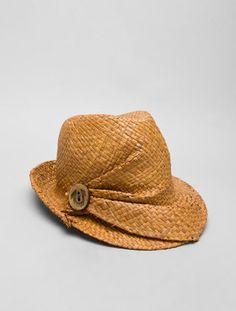 True Religion Button Up Fedora - Fashion Hats For Women