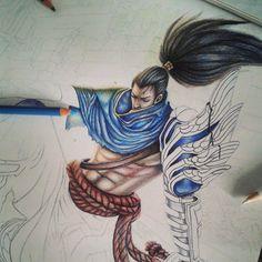 Image result for league of legends pencil art