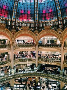 Galeries Lafayette in Paris, France - The perfect (first) weekend in Paris itinerary