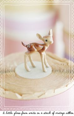 I used to have TONS of these little figurines!  I loved them as a kid.