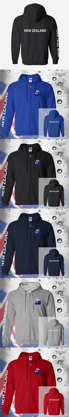 New Zealand NZL Aotearoa Zealander Kiwi mens hoodie sweatshirt jerseys polo sweat new streetwear tracksuit nation fleece zipper
