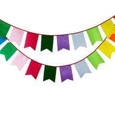 Cheap Nuevo 3.5 M 12 banderas arco iris de fieltro Bunting personalidad hechos a…