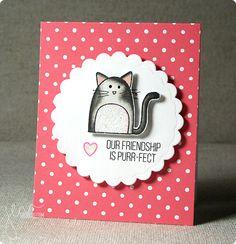 Quite the Pear Card Set, @simonsaysstamp  Exclusives | shurkus.com #friendship #valentine