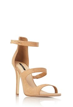 Sleek Faux Suede Sandals | FOREVER21 - 2000089964