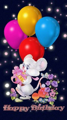 Happy Birthday wallpaper by - 99 - Free on ZEDGE™ Happy Birthday Flowers Wishes, Happy Birthday Greetings Friends, Birthday Wishes For Kids, Happy Birthday Wishes Images, Happy Birthday Video, Cute Happy Birthday, Happy Birthday Celebration, Happy Birthday Pictures, Birthday Wishes Cards