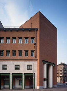 Casa Aurora | GFT Headquarters, Aldo Rossi, Turin, Italy