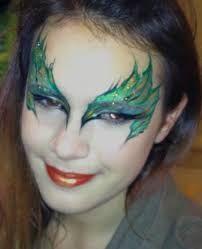 Afbeeldingsresultaat voor face painting gothic fairy